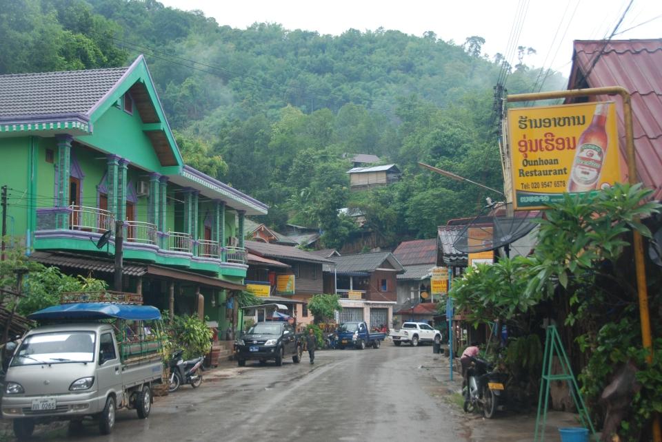 Sleepy Town of Pakbeng
